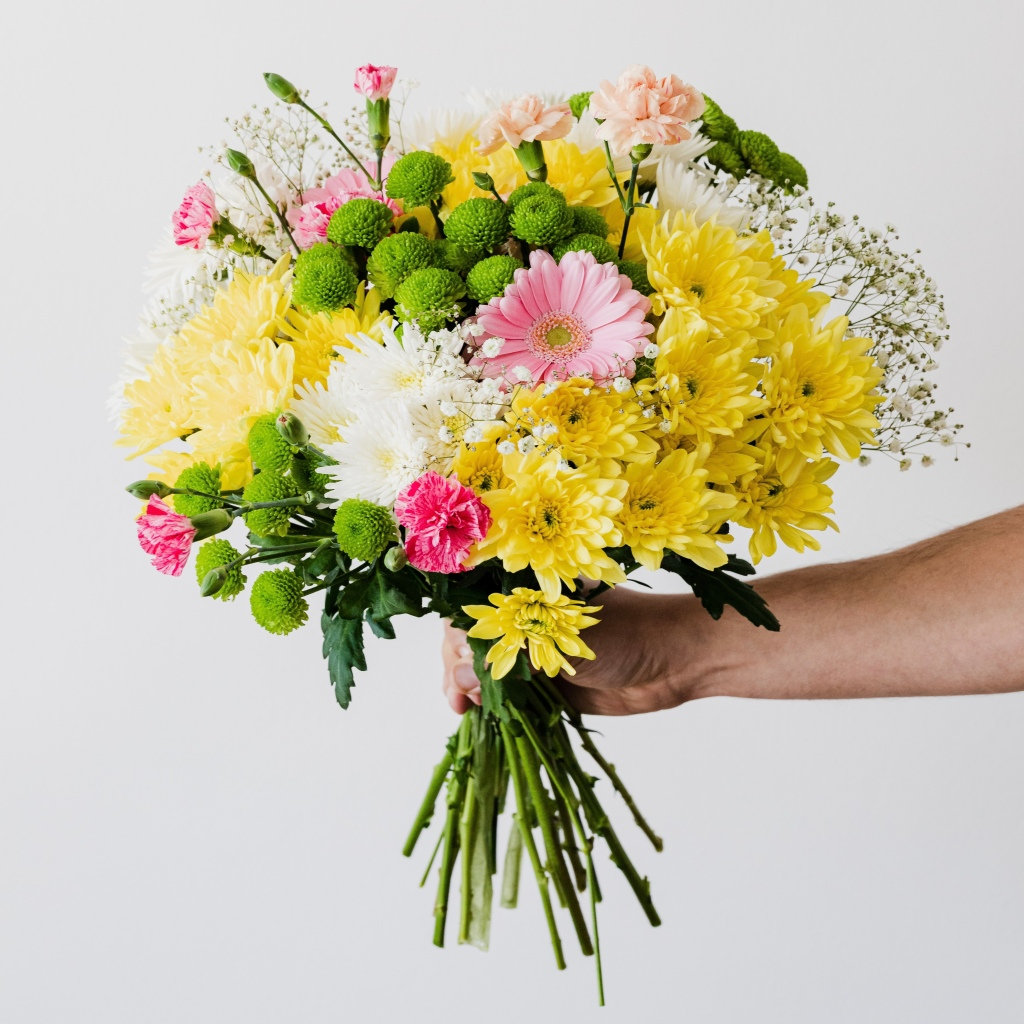 Picture of a bunch of flowers.